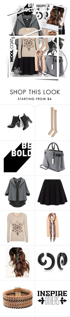 """""""Be Bold: Inspire Others"""" by wanda-india-acosta ❤ liked on Polyvore featuring SWEET MANGO, Base Range, Michael Kors, Polo Ralph Lauren, George, Burberry, Suzywan DELUXE, Bling Jewelry, Chicnova Fashion and NARS Cosmetics"""