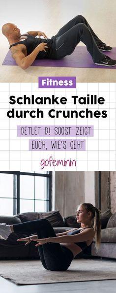 Endlich eine schlanke Taille bekommen - Detlef D! Soost zeigt euch, wie man seitliche Crunches am besten macht #crunches #schlanketaille #fitness #fitnessuebung #workout