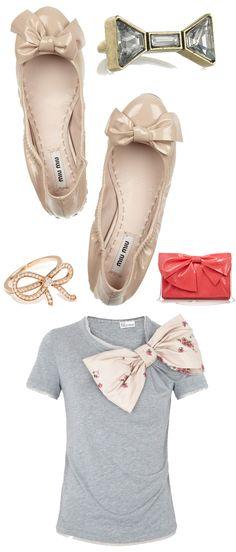 #Bows, #style #fashion, via The Style Umbrella Blog