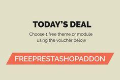 Choose 1 free PrestaShop theme or module
