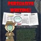 Writing a decent persuasive essay can be hard for students but with this simple format students will learn to master it. The six page packet contai...