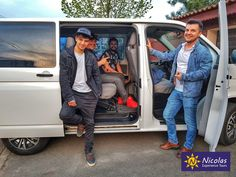 Happy friends hit the road. So nice to drive around Romania with our happy wite car.  Will you join us for a tour? #romania #roadtrip #car #nicolaswhitecar #privatetours #experiencetours