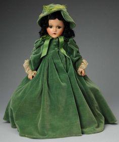"""Madame Alexander Composition """"Scarlet O'Hara"""". :"""