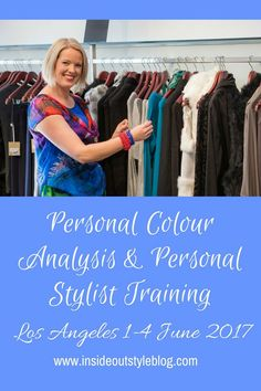 Personal Stylist Training - Personal Colour Analysis Training - Los Angeles - click to find out more