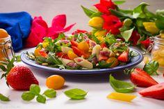 Z GRUBEJ RURKI - Just a SALAD - Przepisy na Sałatki Fruit Salad, Potato Salad, Potatoes, Ethnic Recipes, Food, Fruit Salads, Potato, Essen, Meals