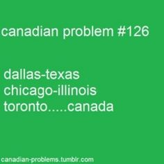 (It's Toronto, Ontario Canada) Just like America has States Canada has Provinces. Hahaha i live in toronto Canadian Memes, Canadian Things, I Am Canadian, Canadian Girls, Canadian Humour, Canadian History, Canada Funny, Canada 150, Toronto Canada