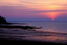 Beautiful Nova Scotia sunset