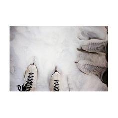 ice skates | Tumblr ❤ liked on Polyvore featuring pictures, photos, backgrounds, winter, white and fillers