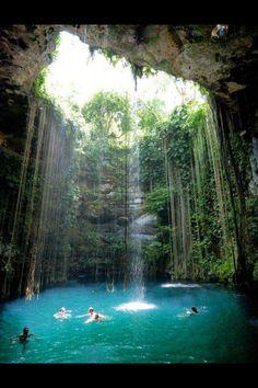 Yacutan Mexico - ik kil cenote