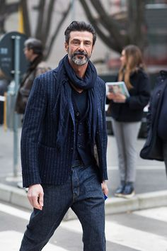On the Street….via Bergognone, Milan Men I totally have this outfit sand wear it all fall hahaha