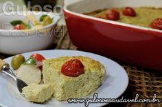 Receita de Torta Fácil de Brócolis e Ricota