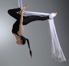 I run to calm my nerves and pound out my anger on the streets. I do yoga to still my mind, and find peace at my body's limits. But I do #aerial because when im up in the air, I feel more beautiful and strong than in any other moment of my life. -Troian Bellisario
