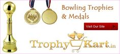 Trophykart, India's largest #bowling #trophy manufacturer and supplier having vast collection of bowling #Trophies with better-quality customer service, guaranteed low prices.