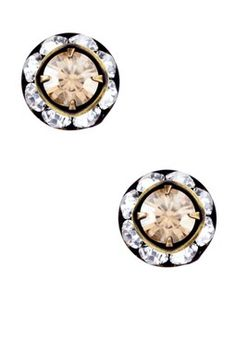 Swarovski Crystal Small Rondelle Post Earrings- So Gorgeous