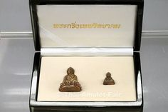 Luang Pho Koon Amulett Set Phra Kring Vittayakom aus dem Jahr BE 2554 (2011)