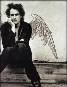 Angel no longer with us, but his voice lives on in lyrics so sweet. Jeff Buckley