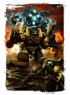 The art of Warhammer 40.000