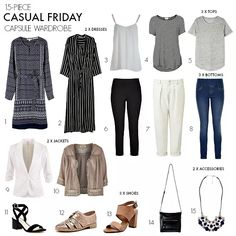 What to wear for casual Friday at the office...