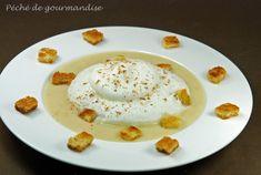 Velouté de pommes de terre en chaud froid de reblochon