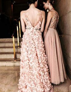 Backstage at Javier Saiach Haute Couture 2016.