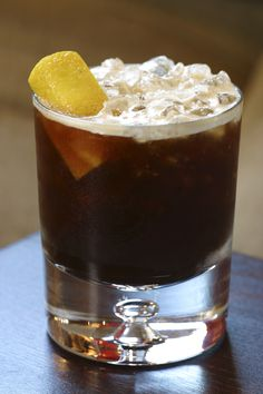 Mixing Guinness, rum, and blood orange... What could be more fun than that?