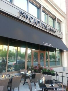 Fine dining at The Capital Grille (Hartford, Connecticut) restaurant review, #food #client - we have to go back here soon!