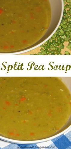 Do It All Working Mom - Split pea soup