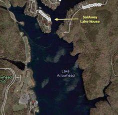 SailAway Lake House location