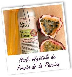 CHEVEUX : Fiche technique huile végétale de Fruits de la Passion BIO - Passiflora edulis L.