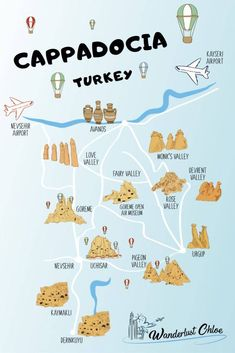 5 UNBELIEVABLE Things To Do In Cappadocia In 2020 - - From top cave hotels to stay in, to exploring the fairy chimneys, and hot air balloon flights, there are so many amazing things to do in Cappadocia, Turkey. Turkey Destinations, Travel Destinations, Stuff To Do, Things To Do, Cave Hotel, Cappadocia Turkey, Cappadocia Balloon, Istanbul Turkey, Visit Turkey