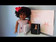 Deena's Monthly American Girl Doll Sized Items Finds! - YouTube