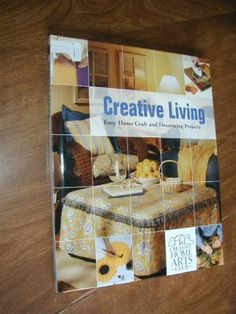 $5.00 Creative Living: Easy Home Craft And Decorating Projects! Creative  Home Arts Club ~