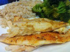 Eat More Fish. White Wine and Dijon White Fish Recipe.