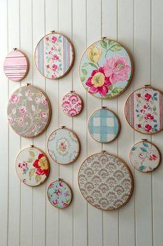 Embroidery Hoop Art by FlossyFleur on Etsy