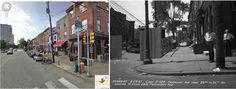 23rd and Fairmount ave.2012 and 1947.....London Bar and Grill now was McMenamins Bar in 1947...near the Eastern State Prison and the Art Museum