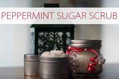 101 Days of Christmas: Peppermint Sugar Scrub | Christmas Your Way