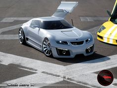 """Saab Aero-X was super awesome concept car that could've lead Saab into a very different kind of future. to the """"Apple of car brands"""" Volvo, Saab 900, Love Car, Koenigsegg, Hot Cars, Exotic Cars, Motor Car, Concept Cars, Cars And Motorcycles"""
