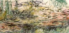 Claude Monet Water Lilies - Handmade Oil Painting Reproduction on Canvas Flower Painting, Claude Monet Water Lilies, Landscape Paintings, Beautiful Oil Paintings, Impressionist Paintings, Lily Painting, Monet Water Lilies, Oil Painting Reproductions, Water Painting
