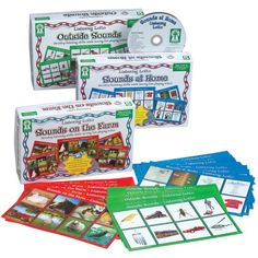 Listening Lotto Games - Set of 3 * This is an Amazon Affiliate link. Continue to the product at the image link.