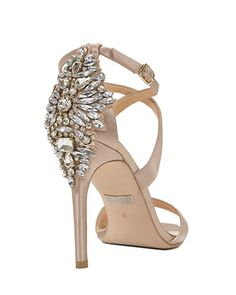 Cadence Embellished Heel Evening Shoe