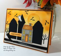 Stampin Up Holiday Home Halloween