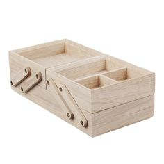 wooden desk organizer