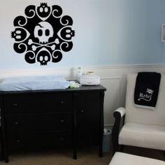 Cartoon Skulls - Wall Decals Stickers
