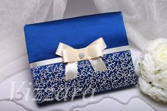 Wedding guest book Navy blue A5 -HAND-Painted- Guestbook wedding book Personalized Unusual wedding Wedding pen Wedding ideas wedding book by VIZZARA on Etsy