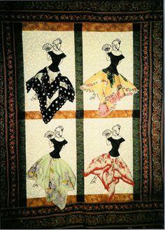 Saucy Senorita Handkerchief Quilt Pattern