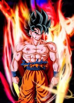 Goku New Transformation by NARUTO999-BY-ROKER