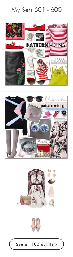 """""""My Sets 501 - 600"""" by anyasdesigns ❤ liked on Polyvore featuring J.Crew, Christopher Kane, Play Comme des Garçons, Gucci, Lanvin, Aspinal of London, Dolce&Gabbana, BCBGMAXAZRIA, Tiffany & Co. and Topshop"""