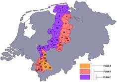 Plan voor Nederlandse gebiedsuitbreiding in 1945. Compensatie voor oorlogsverliezen.
