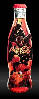Batman and Spiderman -dynamic duo FOLLOW THIS BOARD FOR GREAT COKE OR ANY OF OUR OTHER COCA COLA BOARDS. WE HAVE A FEW SEPERATED BY THINGS LIKE CANS, BOTTLES, ADS. AND MORE...CHECK 'EM OUT!! Anthony Contorno Sr