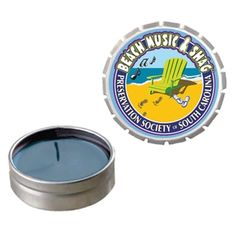 This #promotional candle is made from soy for a clean-burning way to unwind and relax. #epromos